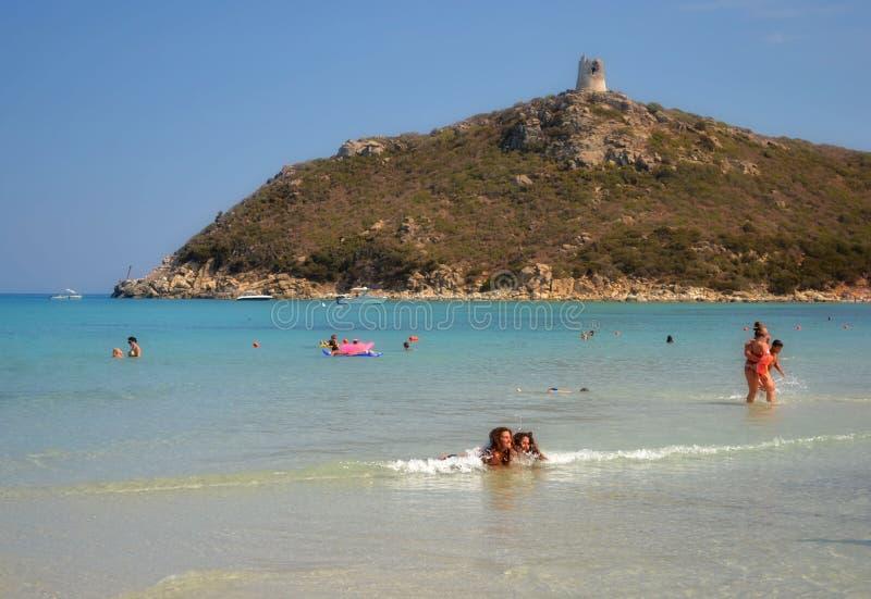 Sardinia beach, Italy royalty free stock photos