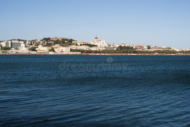 Sardinia. Cagliari Panorama royalty free stock image