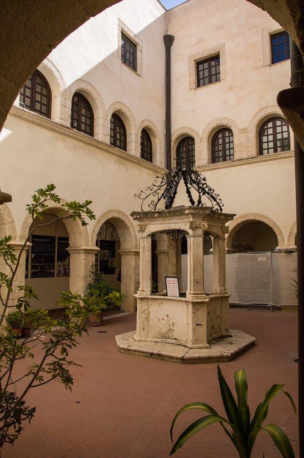 sardinia Cagliari Sanktuarium Nostra Signora Di Bonaria zdjęcie royalty free