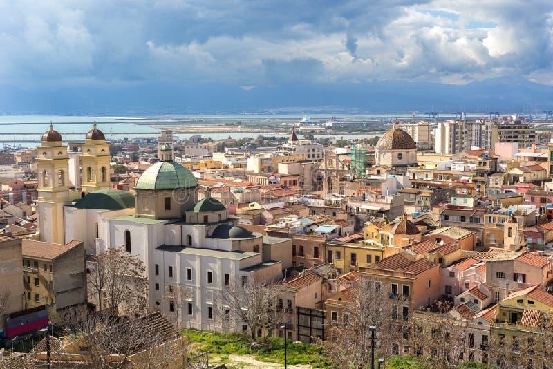 Sardinia, Cagliari, Stampace obraz royalty free