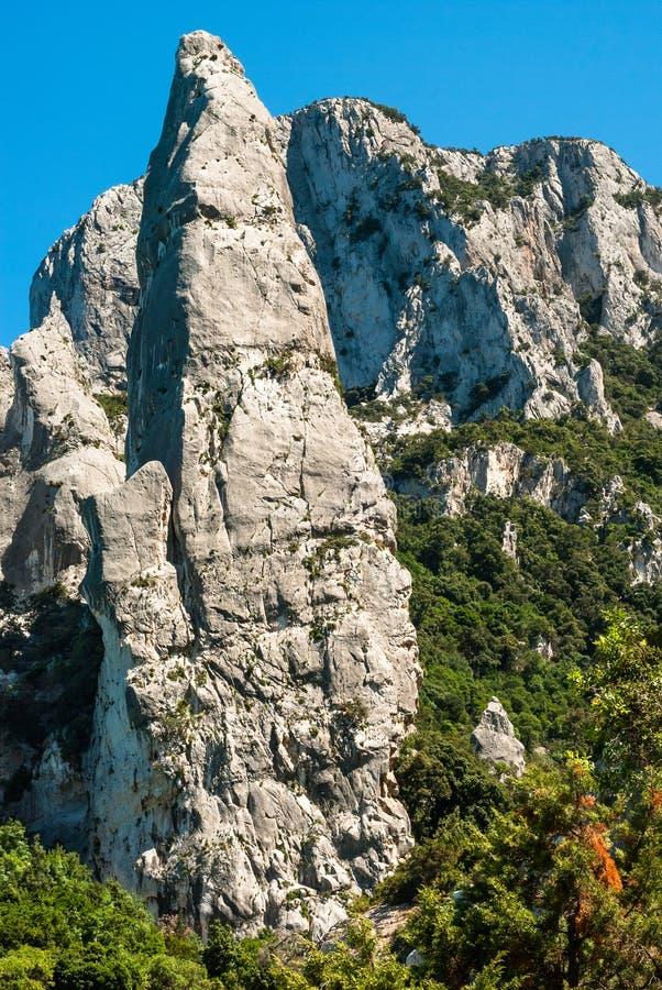 Sardinia, Cala Goloritzè, Agugliastra stock photos