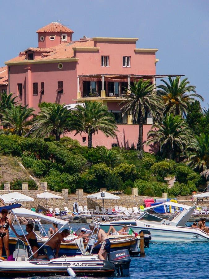 sardinia Carloforte Isola Piana imagens de stock royalty free