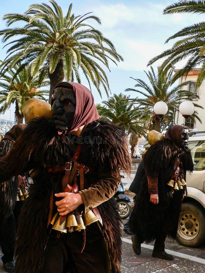 sardinia Carnaval imagens de stock