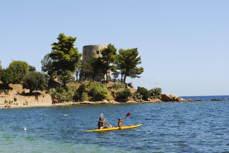 Sardinia. A Coastal tower royalty free stock image