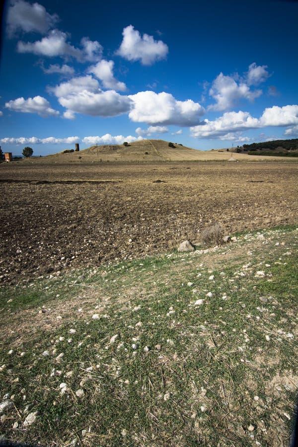 Sardinia. Countryside royalty free stock photo