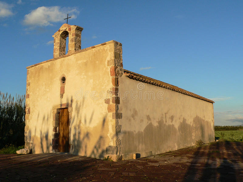 Sardinia. Giba. Villarios royalty free stock photos
