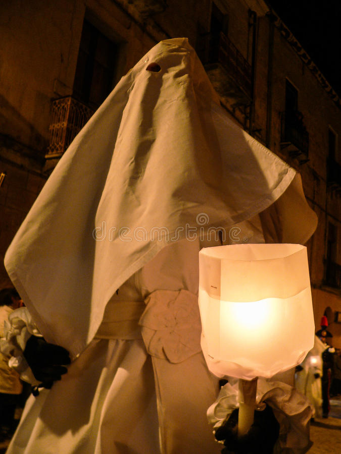 Sardinia. Iglesias. Holy Week and Easter royalty free stock photography