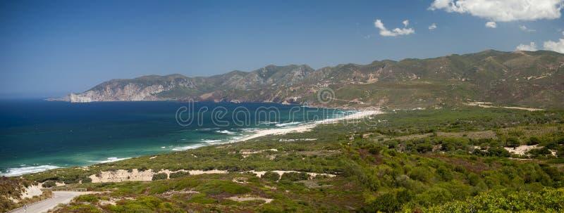 Sardinia. Iglesiente coast royalty free stock photo