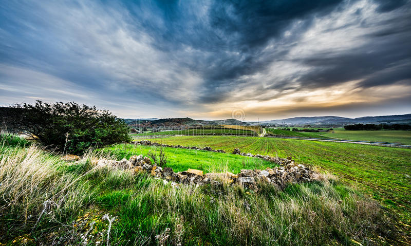 Sardinia landskap arkivfoto