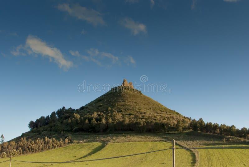 Sardinia. Las Plassas Castle stock photos