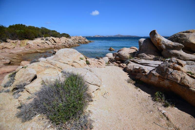 Sardinia, Li piscini stock photo
