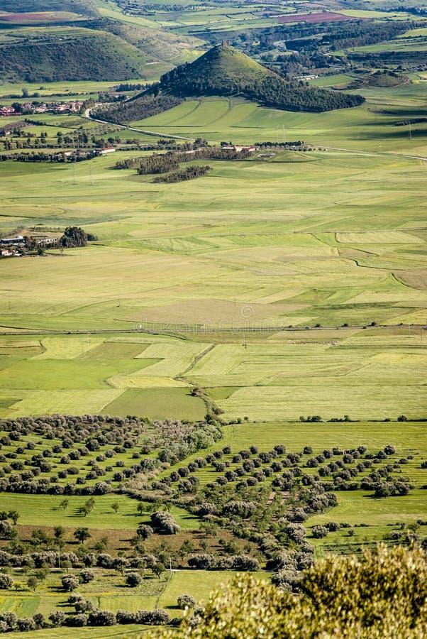 Sardinia. Marmilla landscape stock images