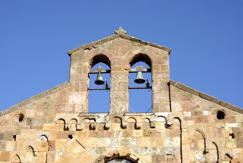 Sardinia medieval church royalty free stock images