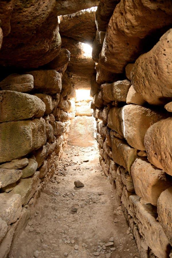 Sardinia monuments stock images