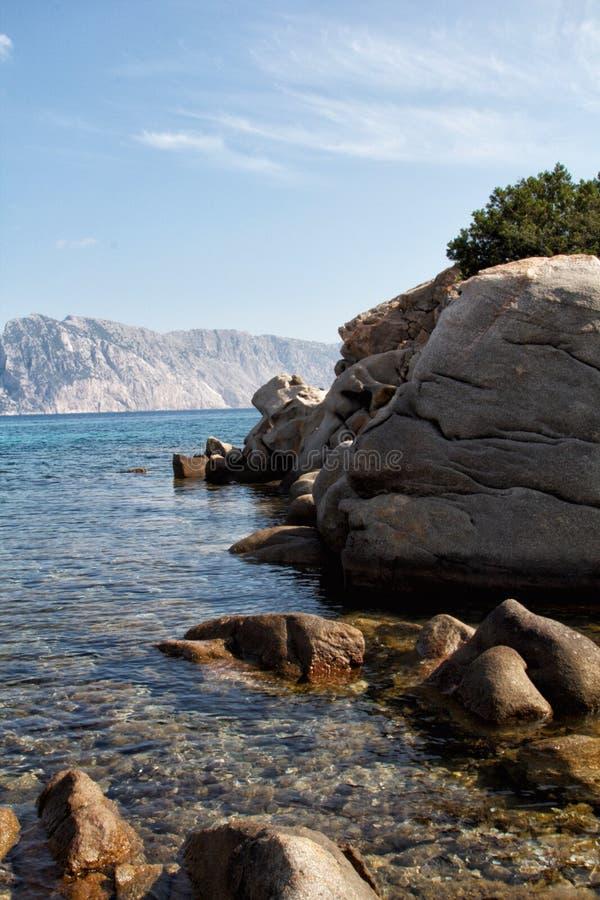 Sardinia plaża obraz royalty free