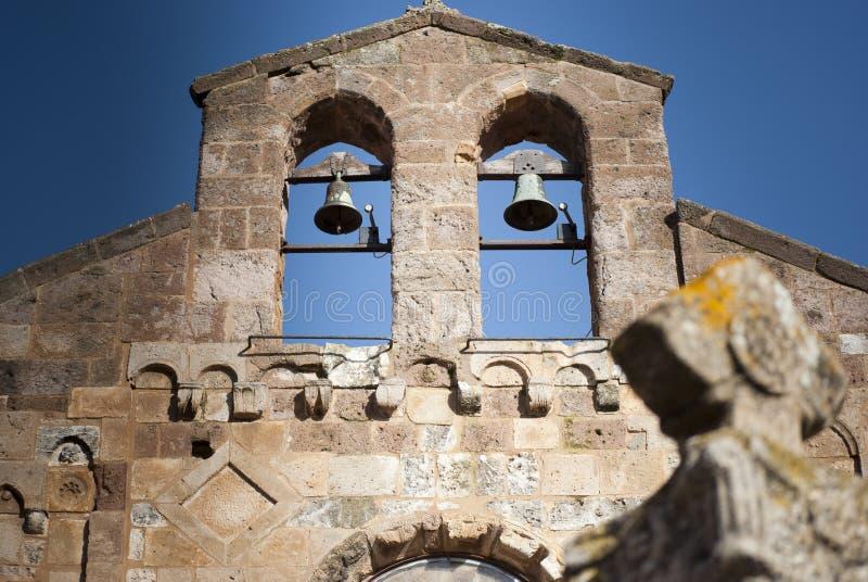 Sardinia. Sino-frontão foto de stock