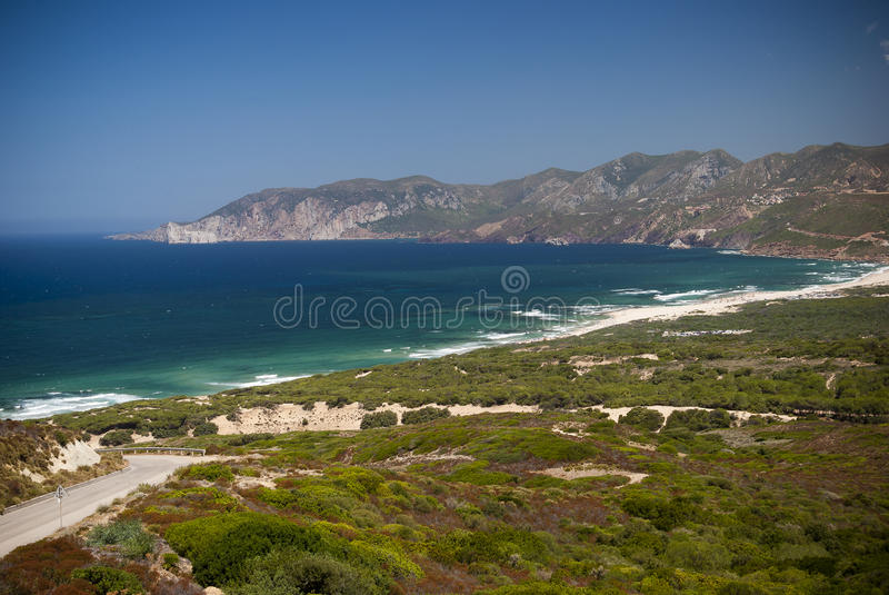 Sardinia. Southwest Coast royalty free stock photo