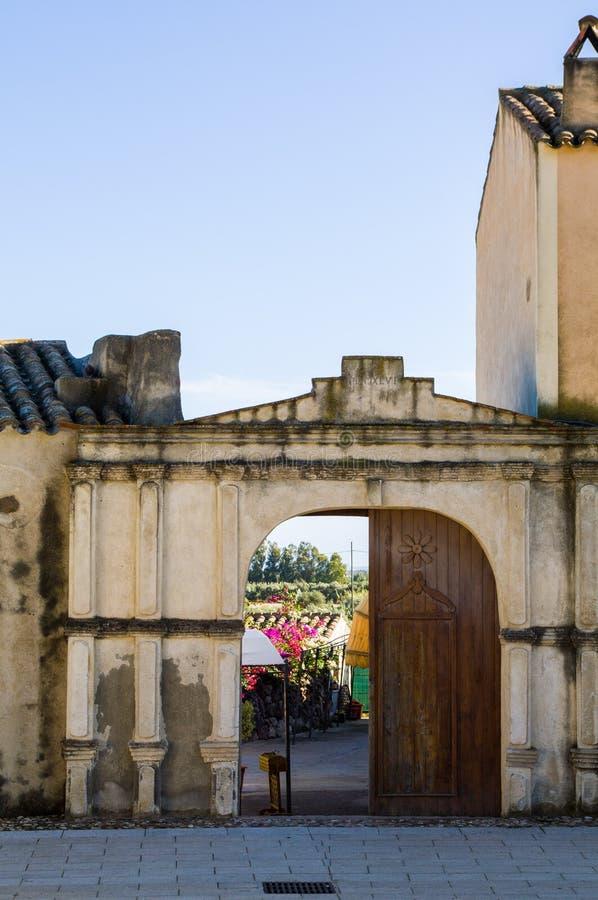 Sardinia. Tratalias stock photography