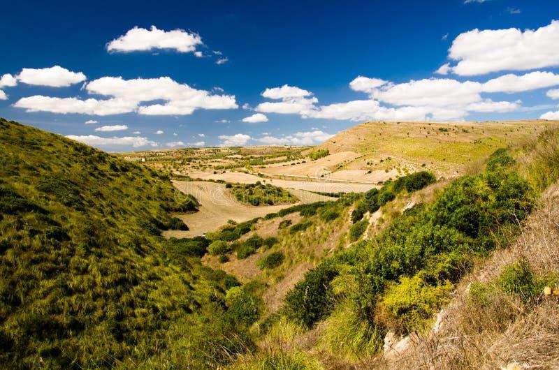 Sardinia, Trexenta imagens de stock