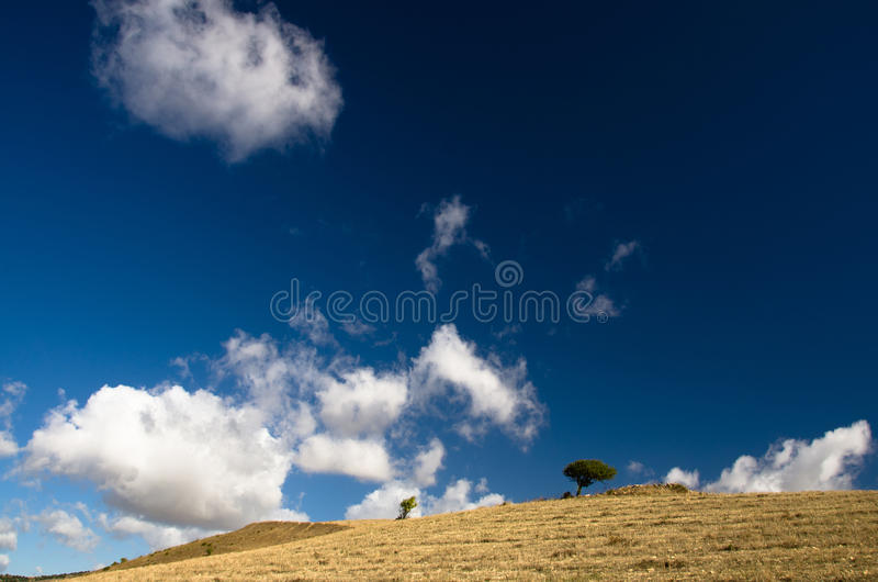 Sardinia, Trexenta imagens de stock royalty free