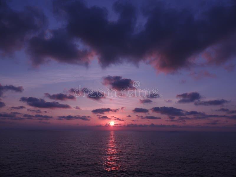 sardinia wschód słońca zdjęcie royalty free