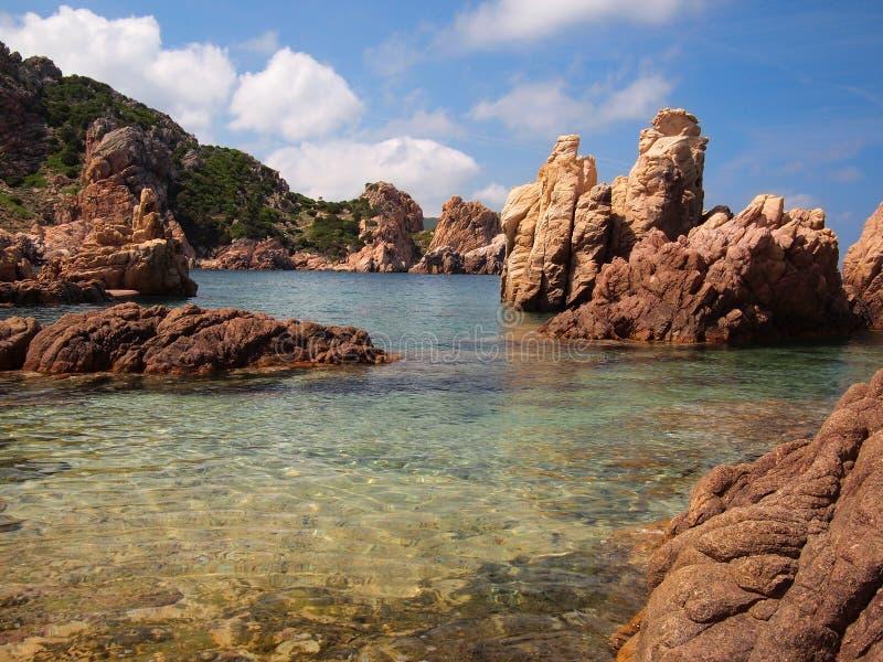Sardinian coast stock photography