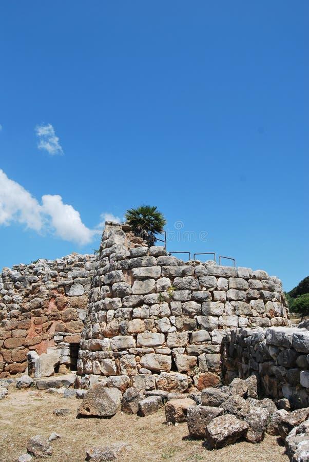 Free Sardinian Nuraghe Stock Images - 55153384