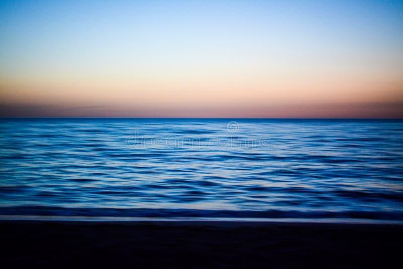 Sardinian sunset royalty free stock image