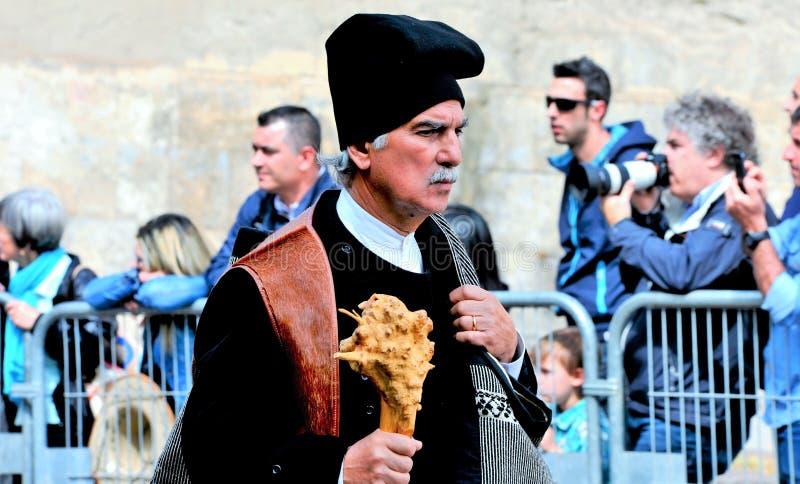 Sardinian tradition royaltyfri foto