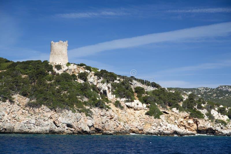 Sardinien, Capo caccia lizenzfreies stockfoto