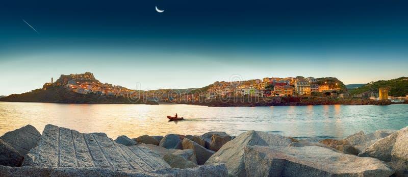 Sardinien Castelsardo lizenzfreie stockfotografie
