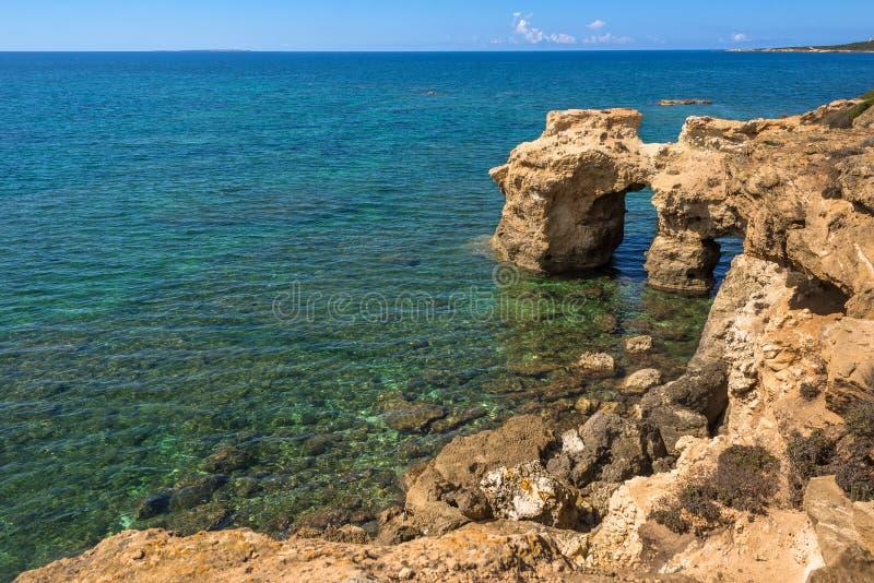 Sardinien, s-` Arena Scoada-Küste lizenzfreie stockfotografie