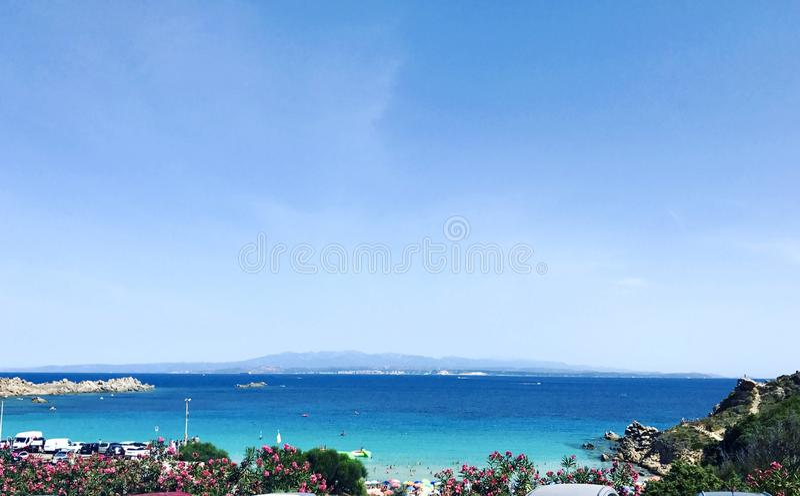 Sardinien-Strand stockbild