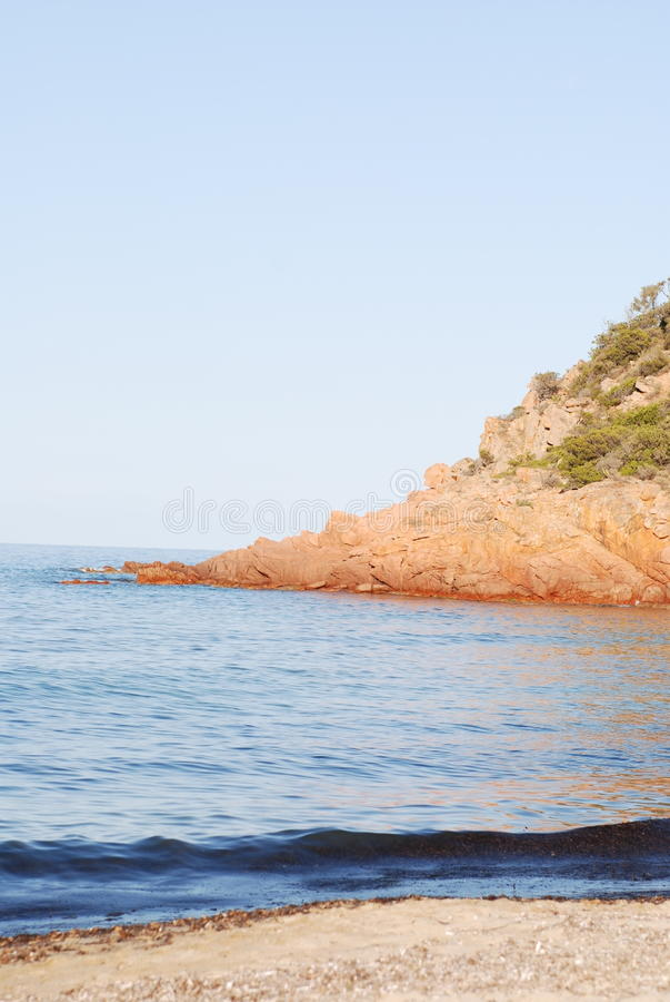 Sardinien-Strand lizenzfreie stockbilder