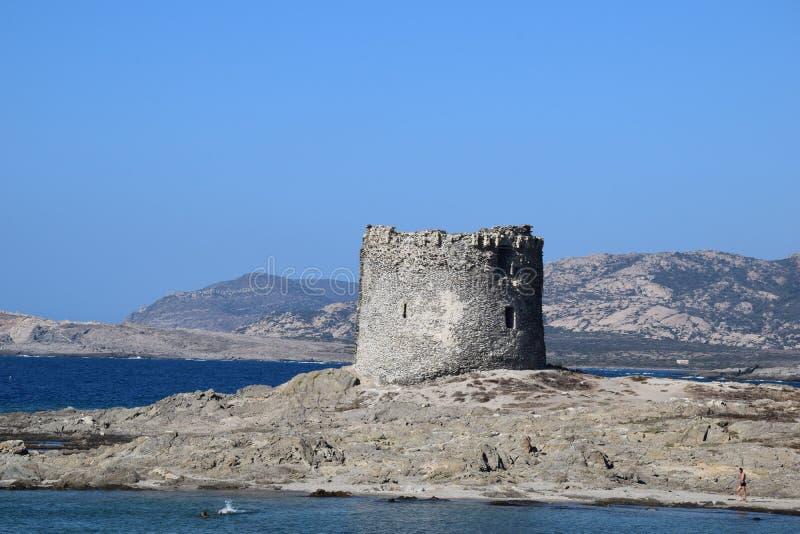 Sardinien-Turm lizenzfreies stockbild