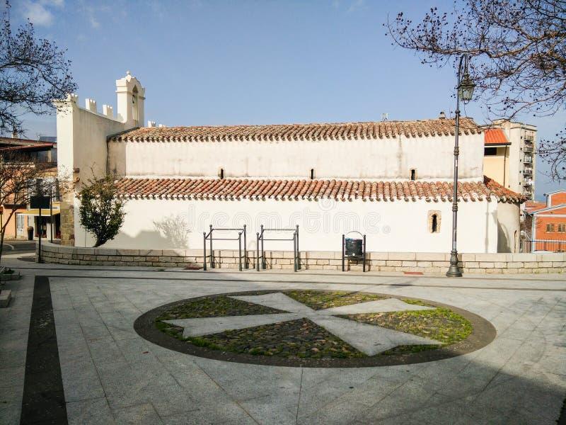 sardinige Guspini Santa Maria di Malta royalty-vrije stock foto's