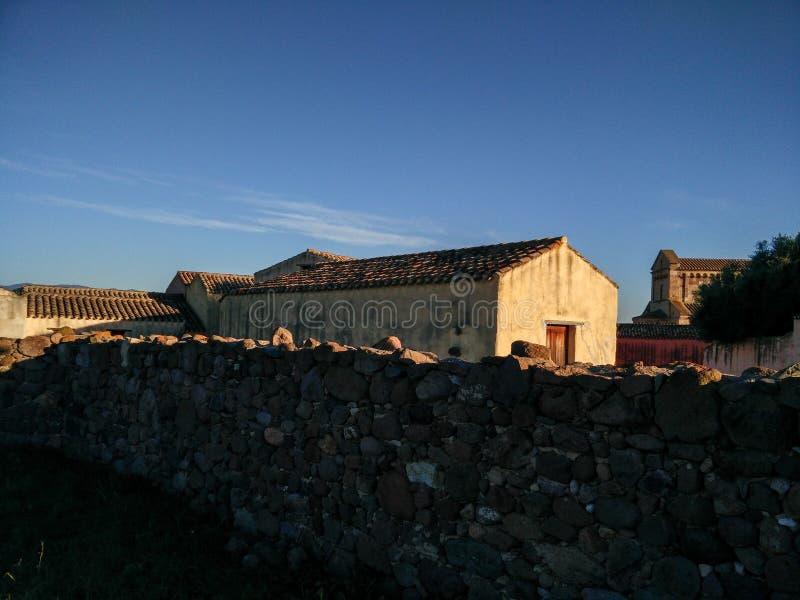sardinige Traditionele architectuur stock foto
