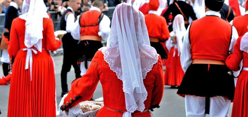 Sardinische Tradition stockfotos