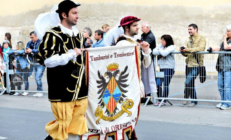 Sardinische Tradition lizenzfreie stockfotos