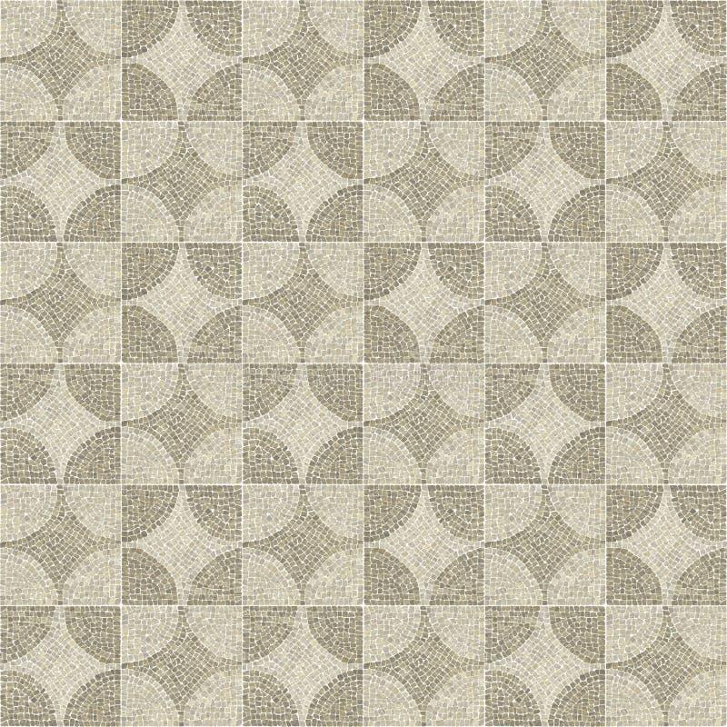 Sardis pattern mosaic texture. stock photography