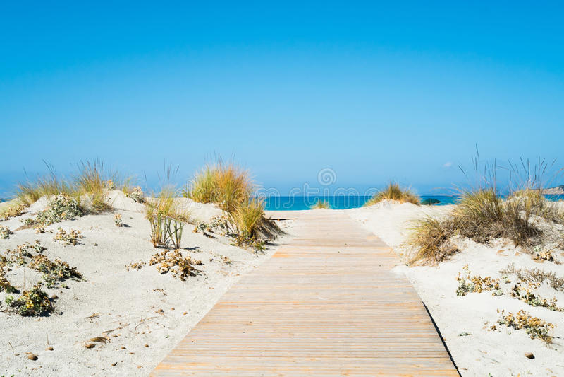 Sardynia na plaży obrazy stock