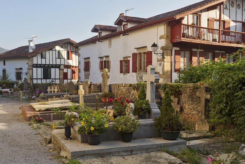 Sare baska wioska obrazy stock