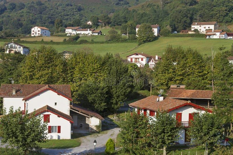 Sare baska wioska fotografia stock