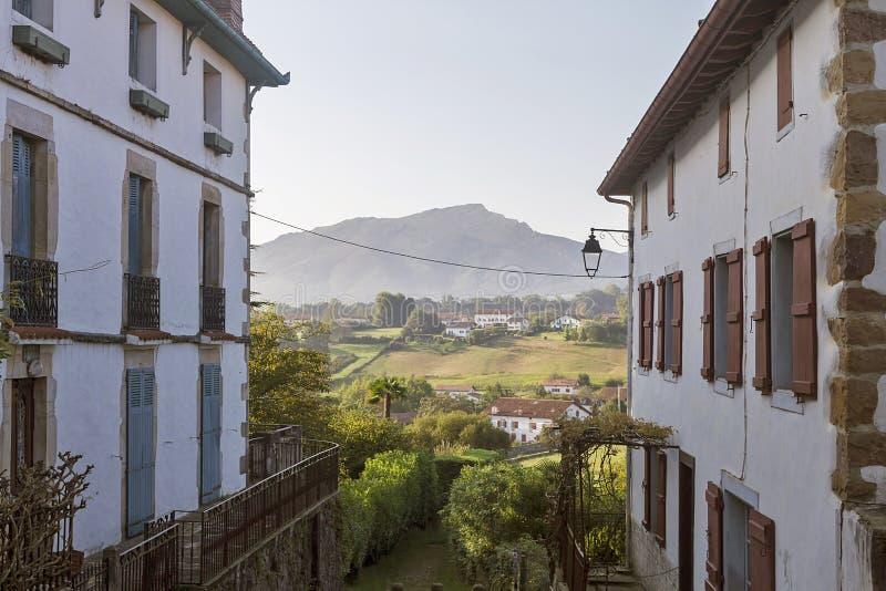 Sare baska wioska zdjęcia stock
