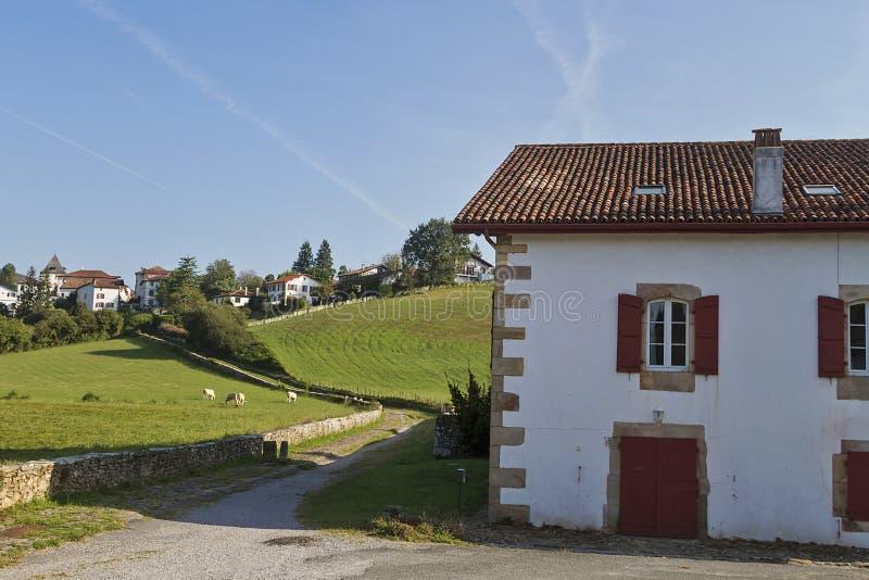 Sare baska wioska obraz royalty free