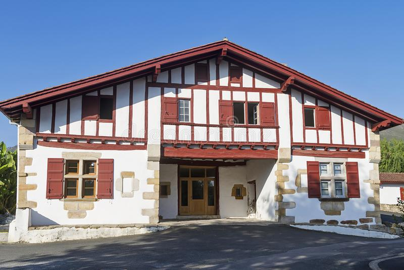Sare Baskisch dorp royalty-vrije stock foto