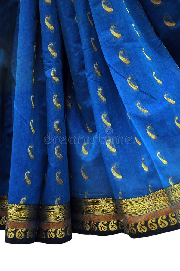 Download Saree design border stock image. Image of golden, asia - 32672475