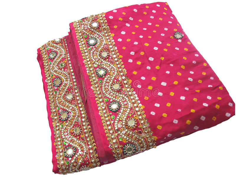 Saree India-Tradicional fotografia de stock