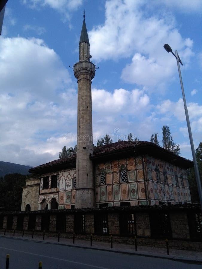 Sarena Dzamija - duma Tetovo obrazy stock