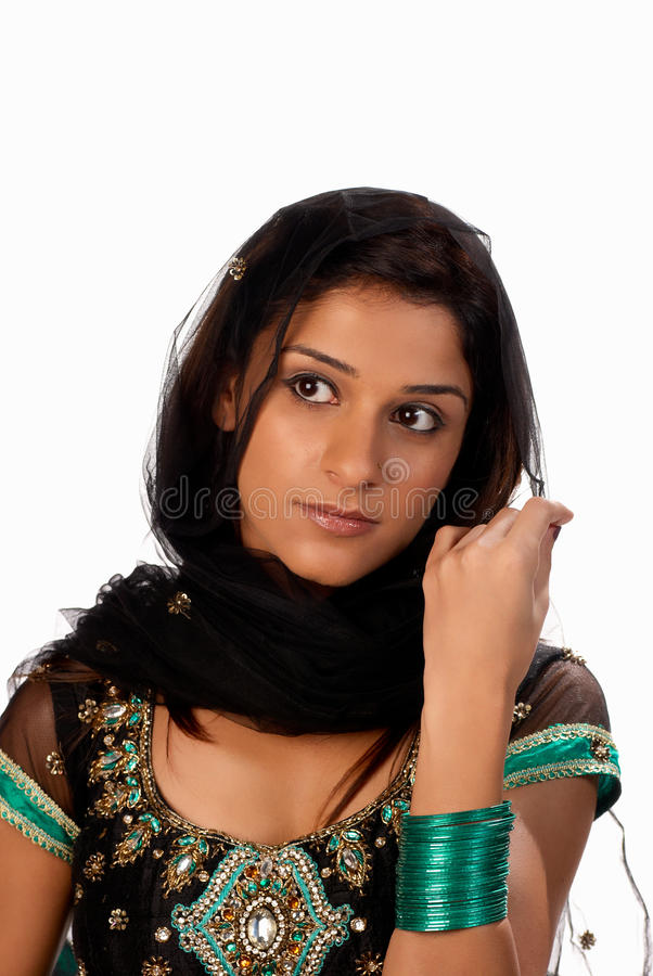 Sari image stock